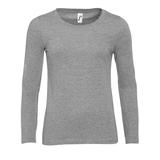 Футболка женская MAJESTIC 150, серебряный/серый фото