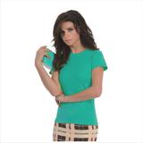 Футболка женская Exact 190/women, мятная/pixel turquoise фото