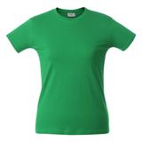 Футболка женская LADY H, зеленая фото