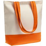 Холщовая сумка Shopaholic, оранжевая фото