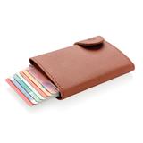 Кошелек с держателем для карт C-Secure RFID, коричневый фото