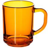 Кружка Enjoy, оранжевая фото