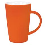 Кружка Tioman с прорезиненным покрытием, оранжевый фото