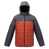 Куртка мужская Outdoor, серая с оранжевым фото