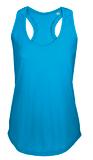 Майка женская MOKA 110, ярко-голубая фото