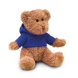 Медведь в футболке, синий фото