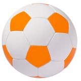 Мяч футбольный Street, бело-оранжевый фото