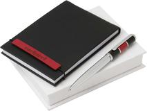 Набор Cacharel: дизайнерский блокнот, шариковая ручка фото