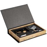 Набор Follow Me (компас, ручка, мультитул), черный фото