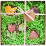 Набор имбирного печенья Весна внутри фото