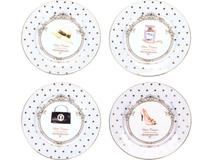 Набор  десертных тарелок «Женский каприз» фото