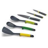 Набор из кухонных инструментов и ножей elevate™ фото