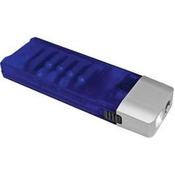 Набор отверток с фонариком, серебряный/серый, синий фото
