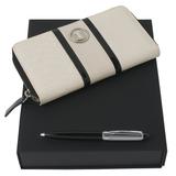 Набор (портмоне дамское, ручка шариковая) фото
