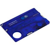 Набор инструментов SwissCard Lite, синий фото