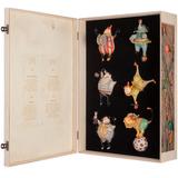 Набор из 6 елочных игрушек Circus Collection фото
