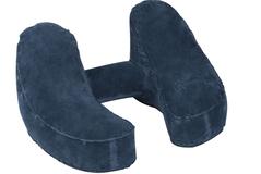 Надувная подушка под шею Comfort Travelling, синяя фото