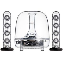Настольные колонки Harman Kardon Soundsticks 2.1, белые фото