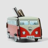 Настольный органайзер vw t1 camper - красный фото