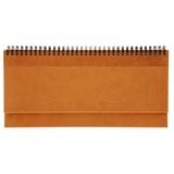 Недатированный планинг VELVET 5495 (794) 298x140 мм, оранжевый фото