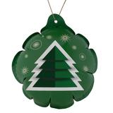 Новогодний самонадувающийся шарик Елочка, зеленый фото
