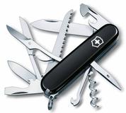 Офицерский нож Huntsman 91, черный фото