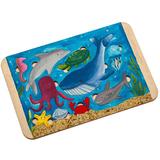 Пазл-раскраска Wood Games, морские жители фото