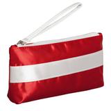 Пенал-косметичка Unit Weekender, красный с белым фото