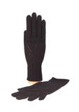 Перчатки Paris, черные фото