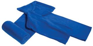 Плед с рукавами Lazybones, темно-синий фото