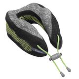 Подушка под шею для путешествий Cabeau Evolution Cool, черная с серым фото