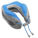 Подушка под шею для путешествий Cabeau Evolution Cool, серая с синим фото