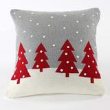 Подушка с орнаментом christmas story one, 45х45 см фото