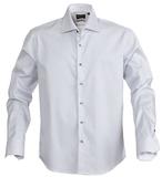 Рубашка мужская в полоску RENO, серая фото
