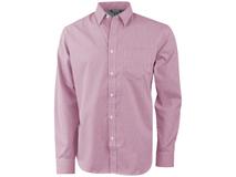Рубашка Net мужская с длинным рукавом, красный фото