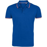Рубашка поло мужская Prestige Men, ярко-синяя фото