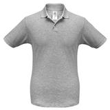 Рубашка поло Safran серый меланж фото