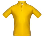 Рубашка поло Unit Virma, желтая фото