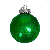 Шар новогодний FLICKER, зелёный фото