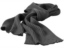 Шарф Broach, серебряный/серый фото