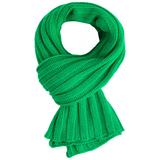Шарф Chain, зеленый фото