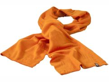 Шарф Mark, оранжевый фото