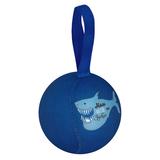 Шарик-антистресс с пожеланием «Акула», темно-синий фото