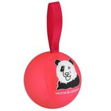 Шарик-антистресс с пожеланием «Панда», розовый фото