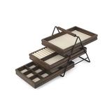 Шкатулка для украшений terrace орех фото