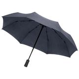 Складной зонт rainVestment, темно-синий меланж фото