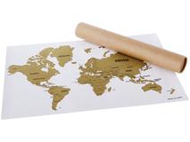 Скретч-карта мира Wanderlust, 61x43 см фото