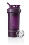 Спортивный шейкер с контейнером ProStak, фиолетовый (сливовый) фото