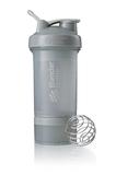 Спортивный шейкер с контейнером ProStak, серый графит фото