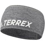 Спортивная повязка на голову Terrex Trail, серый меланж фото